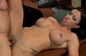 Milf fucked at work