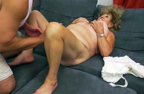 Hot old woman fucking