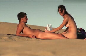 Teen nudist couple